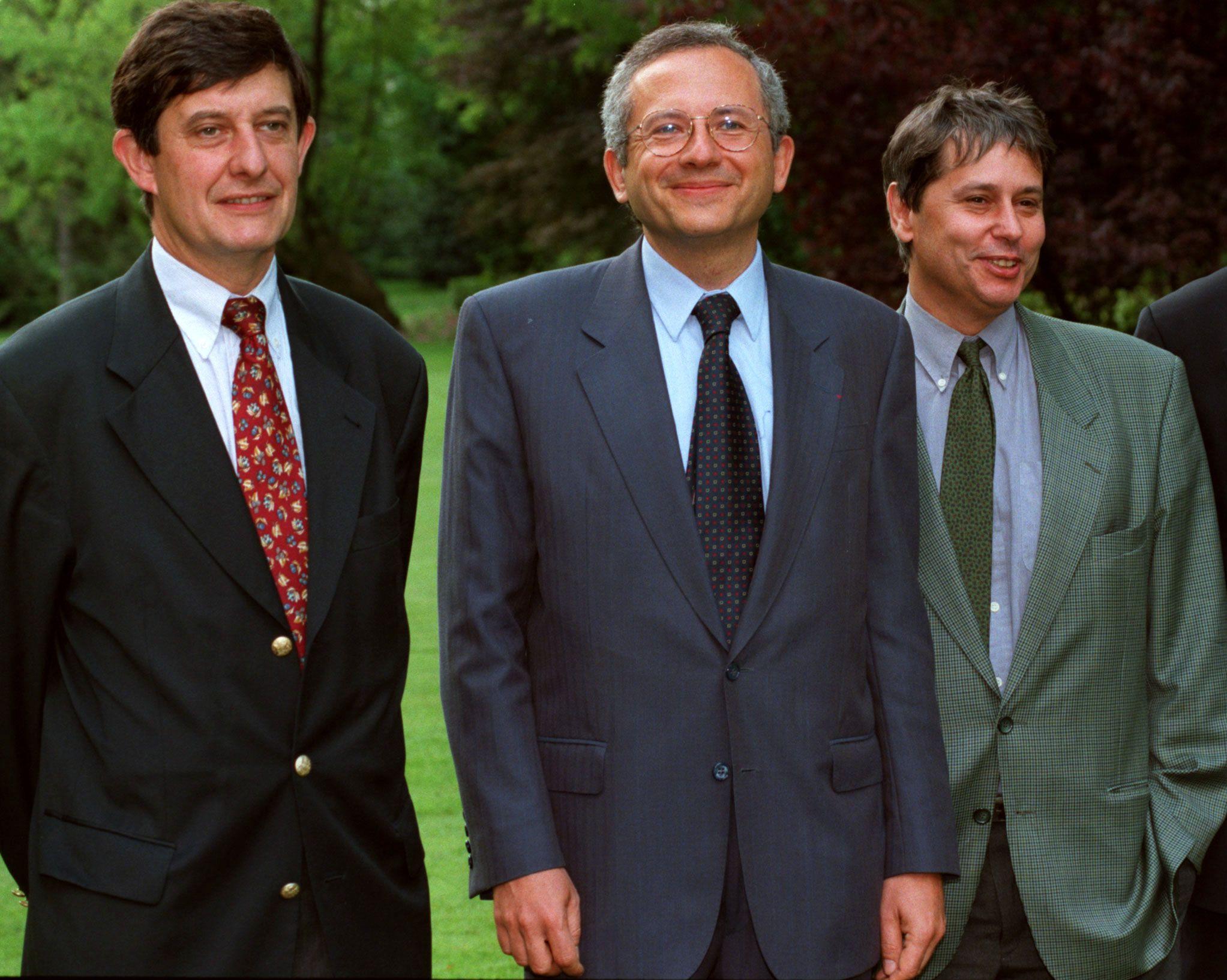 Olivier Schrameck (ici en 1997), choisi par François Hollande, est le plus jospiniste des hauts fonctionnaires français.