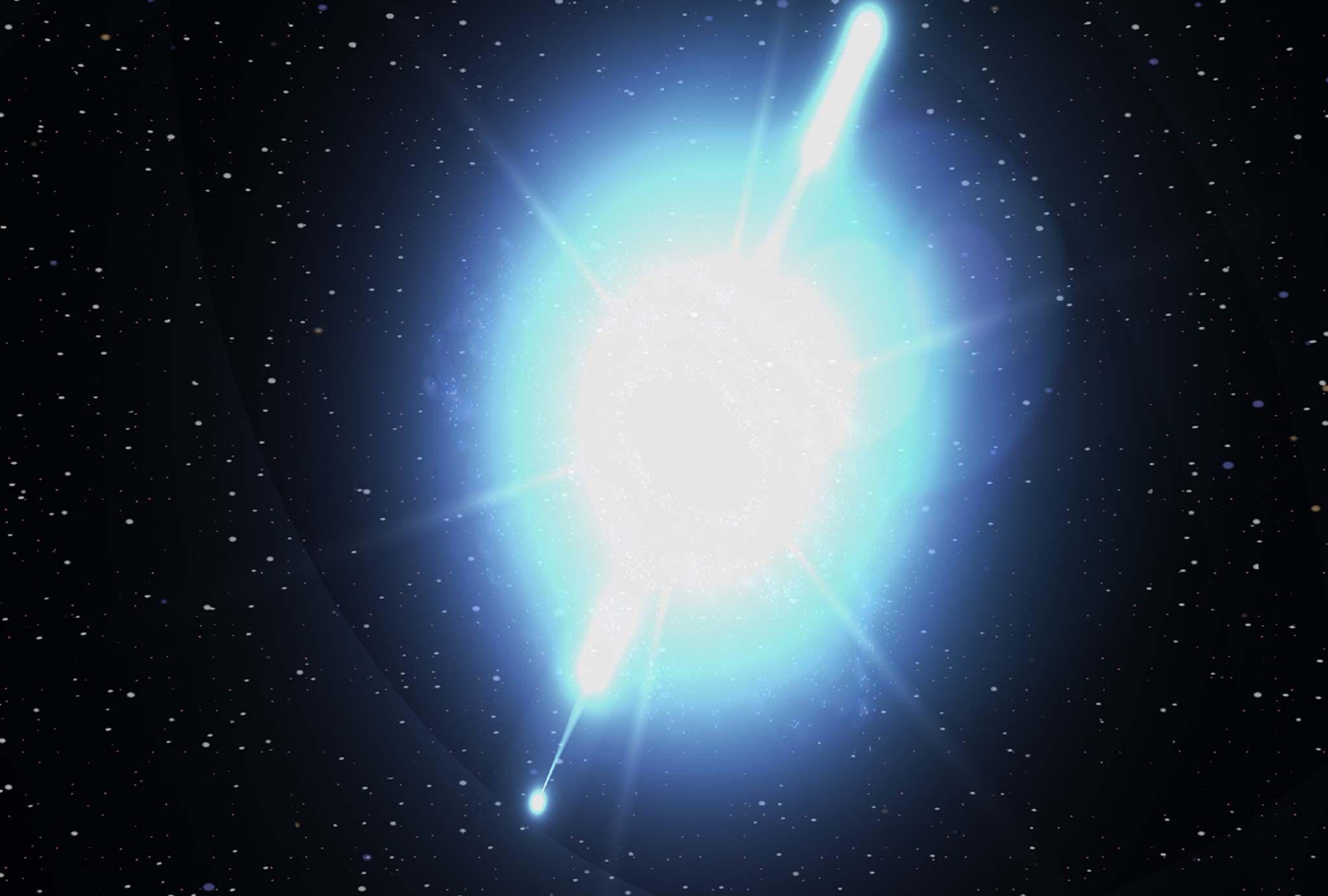 Rayons gamma: la chose la plus puissante de l'univers pourrait expliquer pourquoi nous sommes seuls dans l'univers (et l'une des 5 grandes extinctions de masse de la Terre)