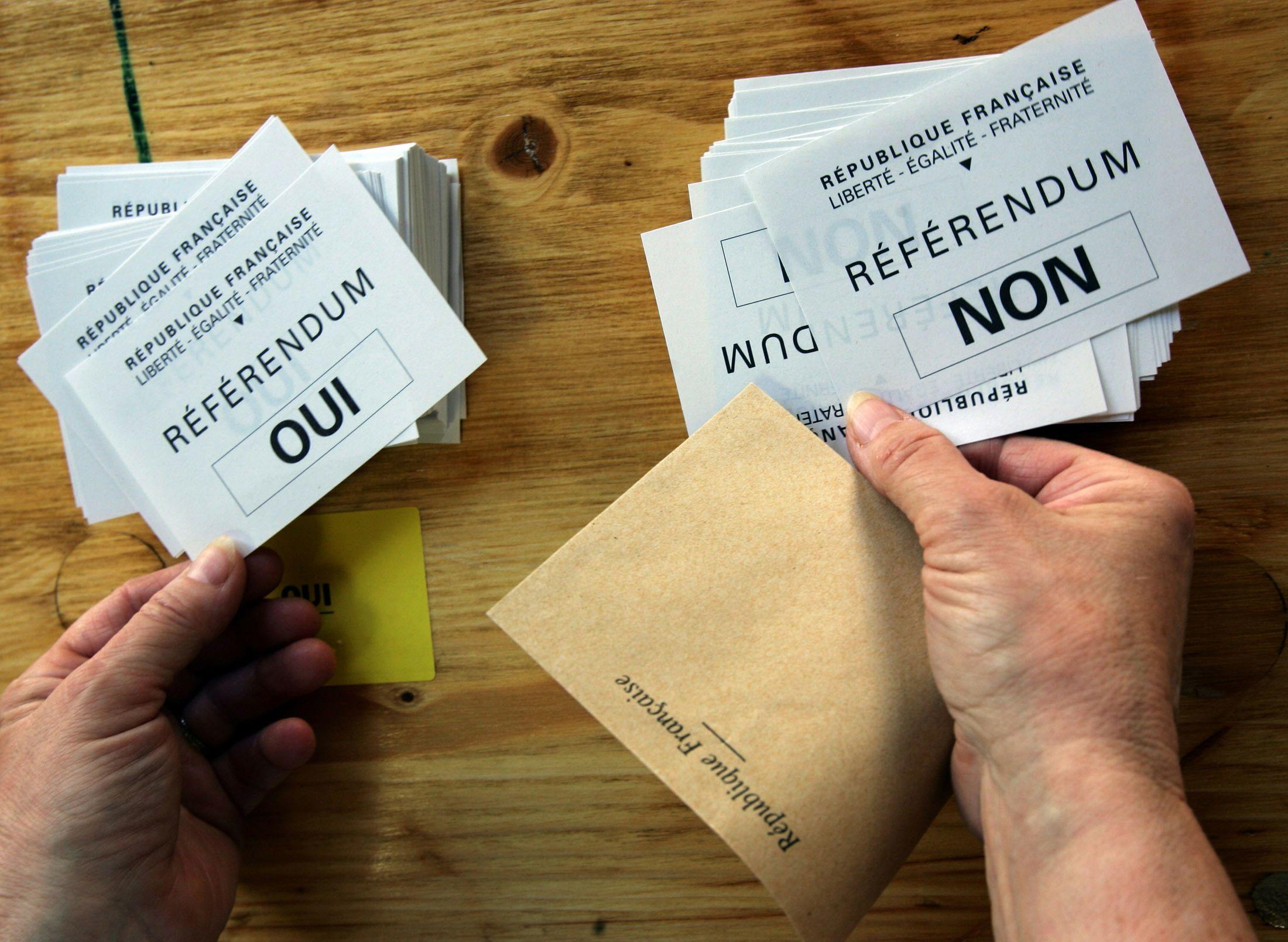Le référendum, signe de l'impuissance des politiques.