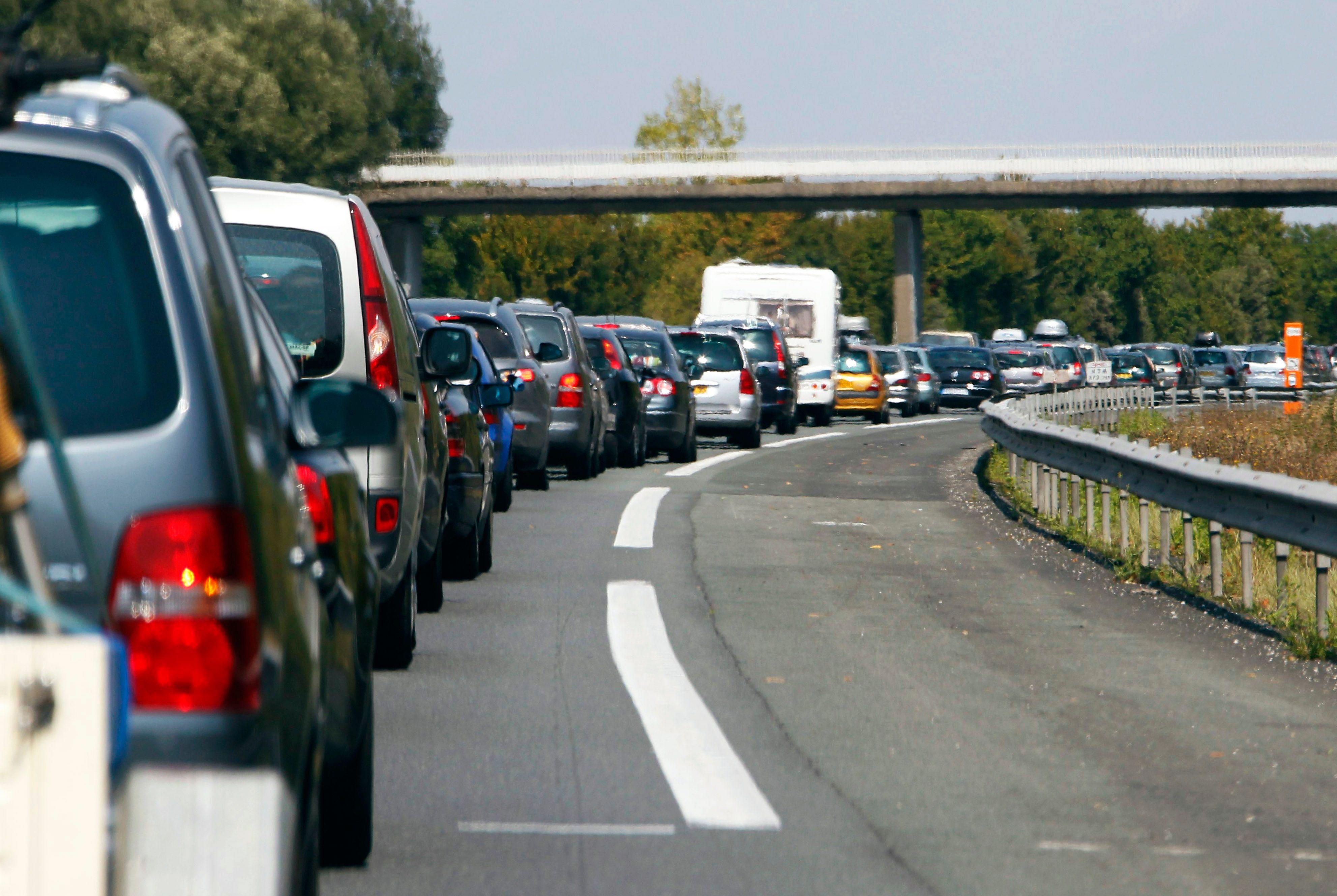 Le trafic s'intensifiait dans le courant de la journée de ce samedi