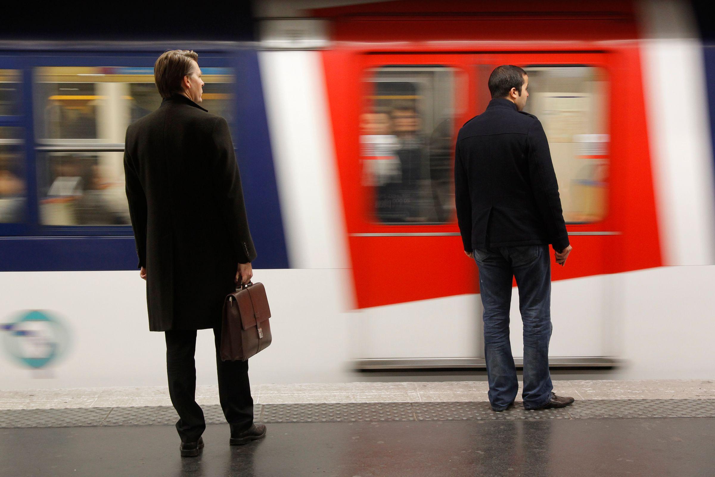 Le RER A est la ligne la plus fréquentée d'Europe.
