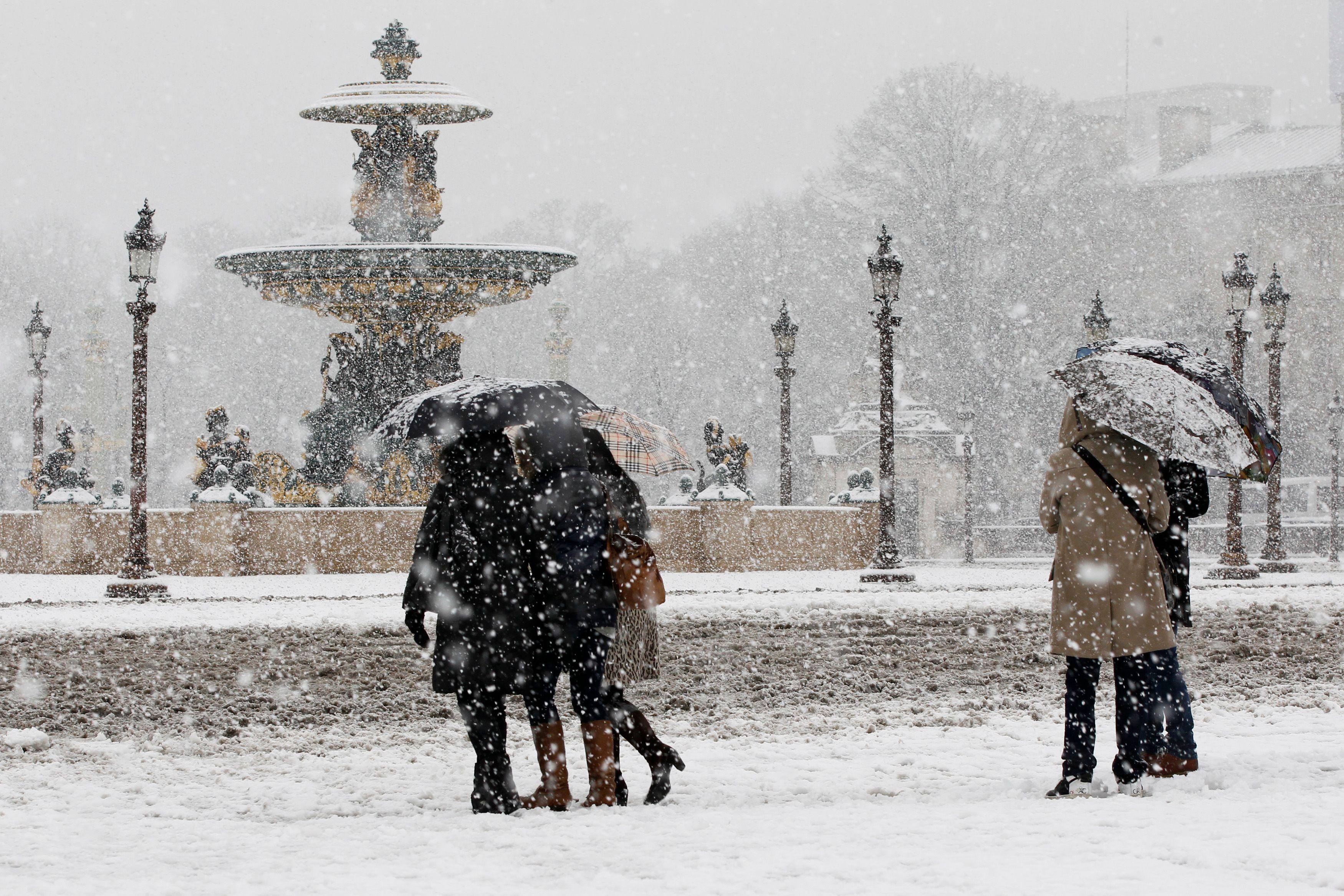 Météo France : vigilance orange neige et verglas sur 10 départements