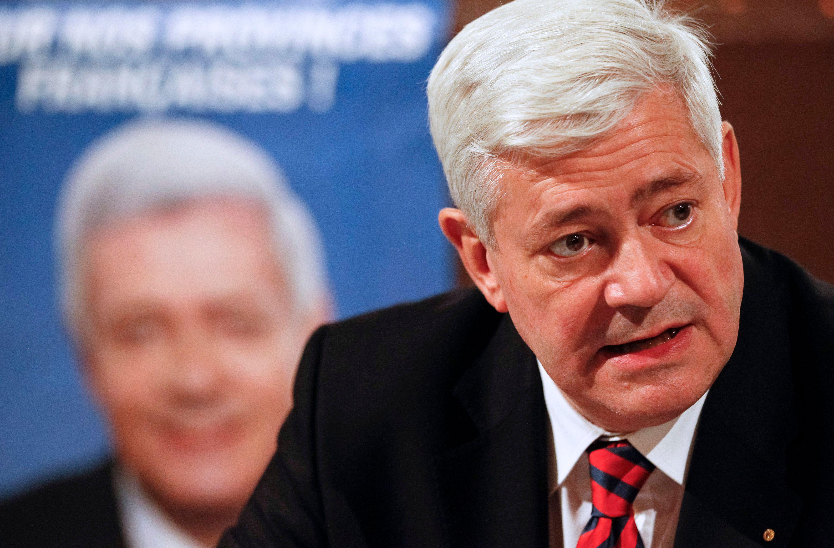 Le député européen Bruno Gollnisch.