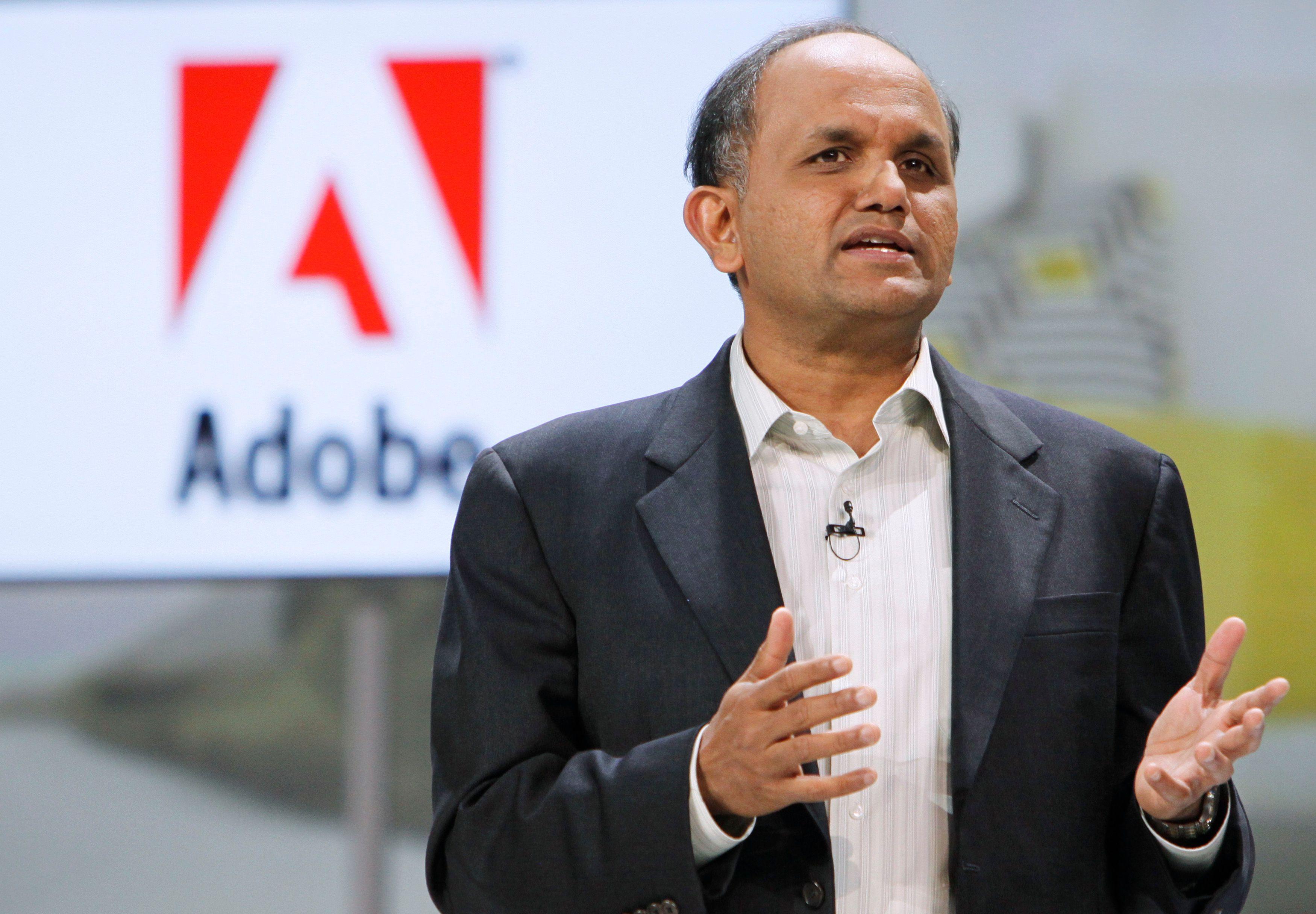 Shantanu Narayen, CEO d'Adobe