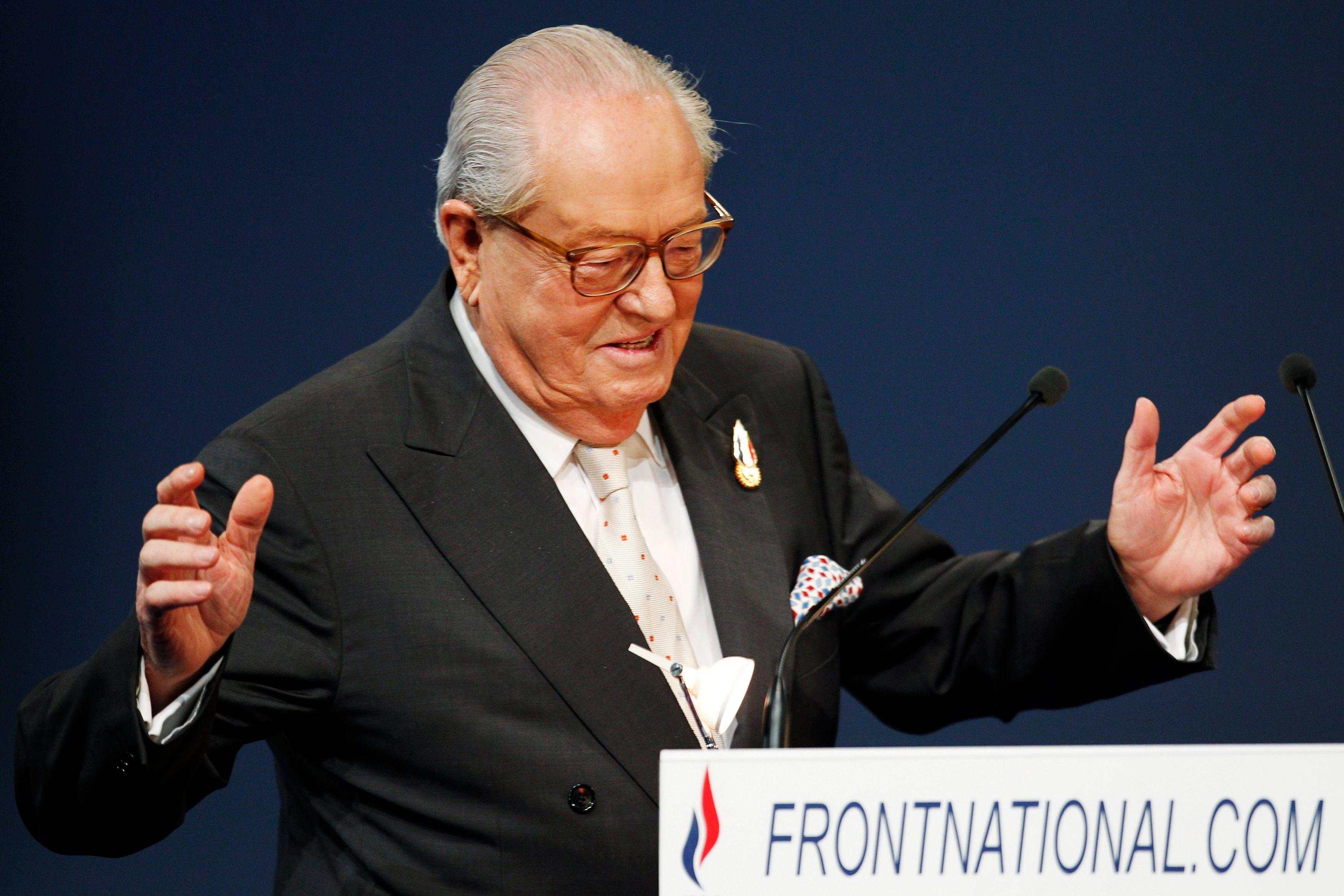 Jean-Marie Le Pen s'est une nouvelle fois exprimé sur la présence des Roms à Nice