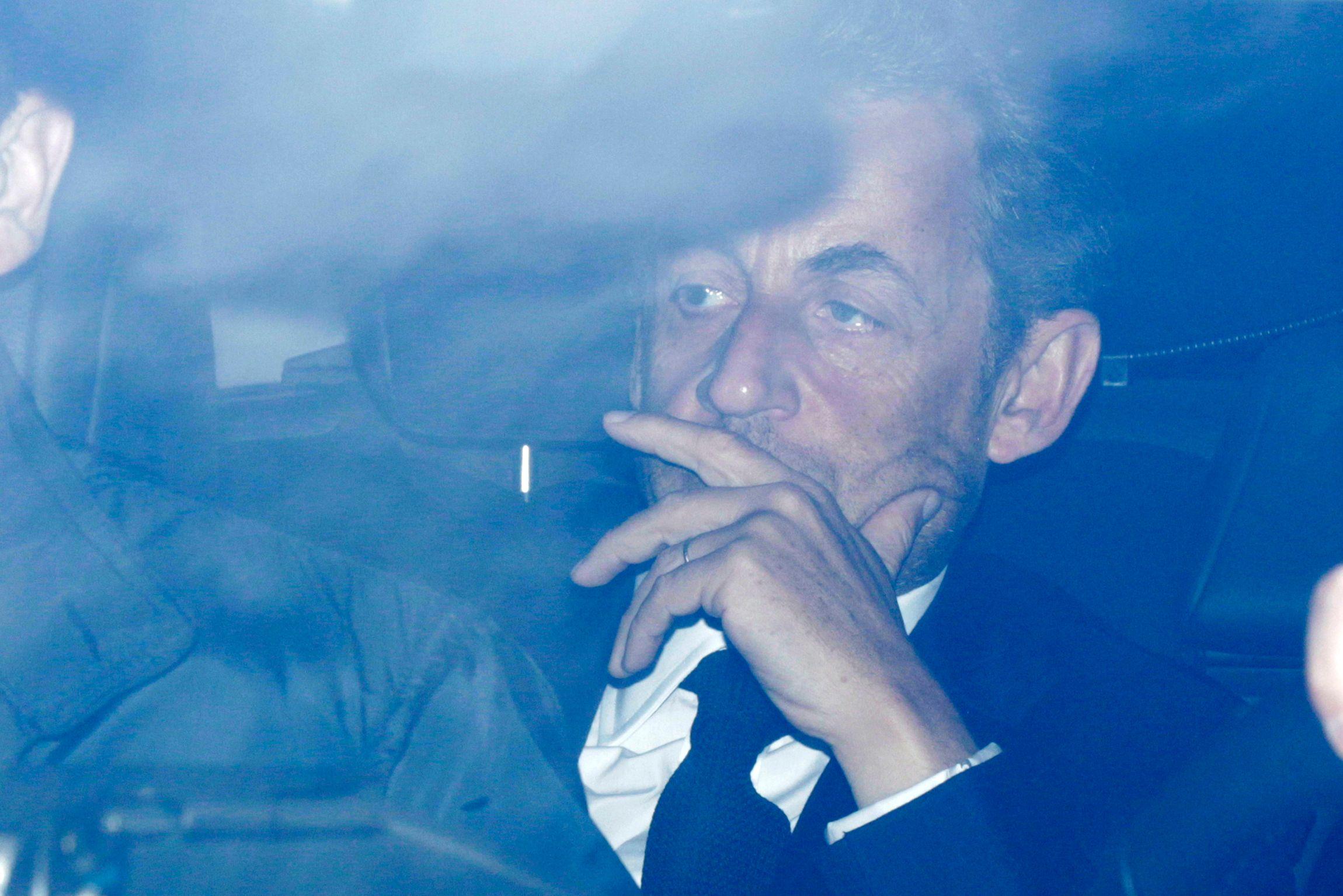 Nicolas Sarkozy s'est rendu à l'Assemblée nationale