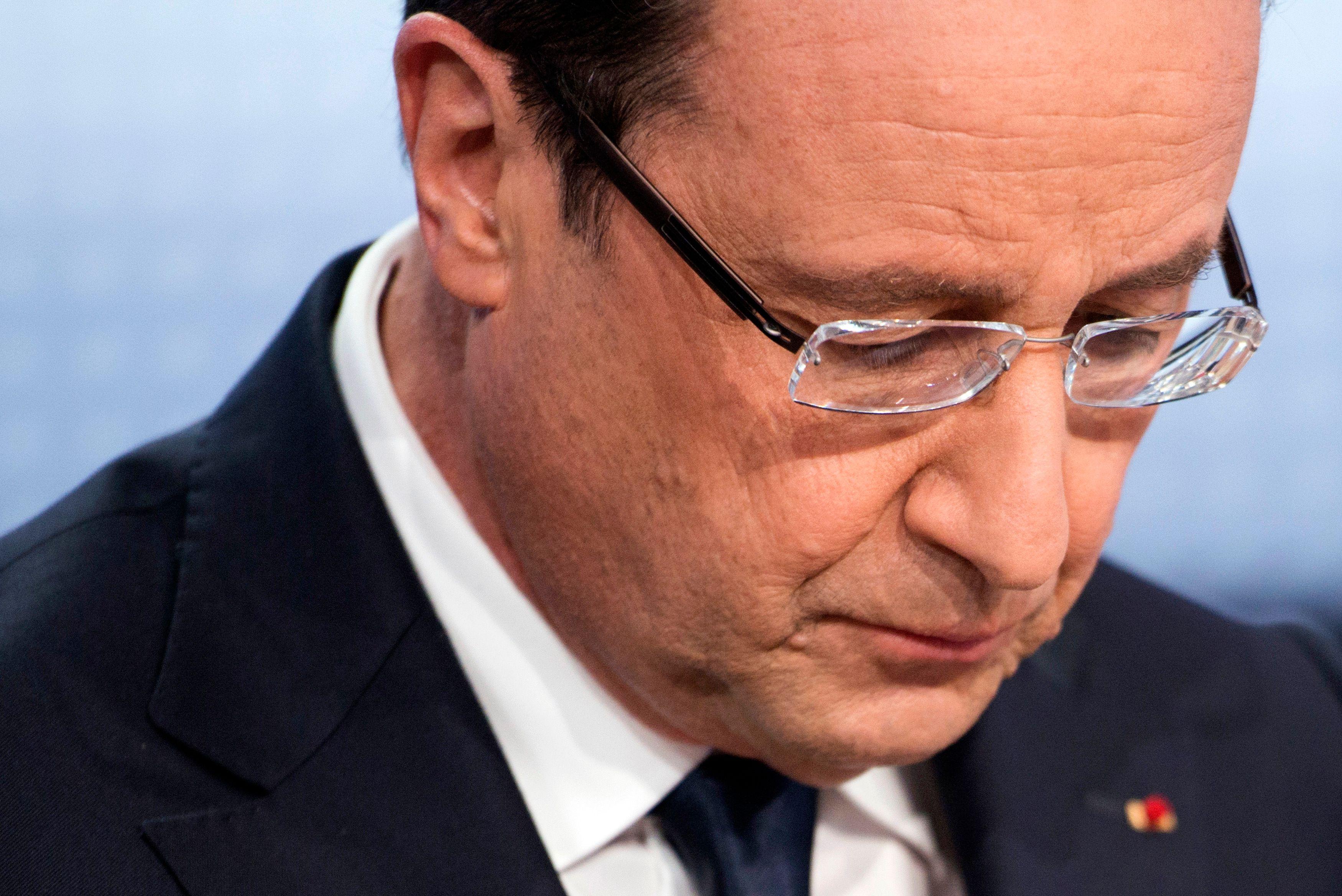 La cote de popularité de François Hollande a chuté de cinq points en septembre, à 23%.