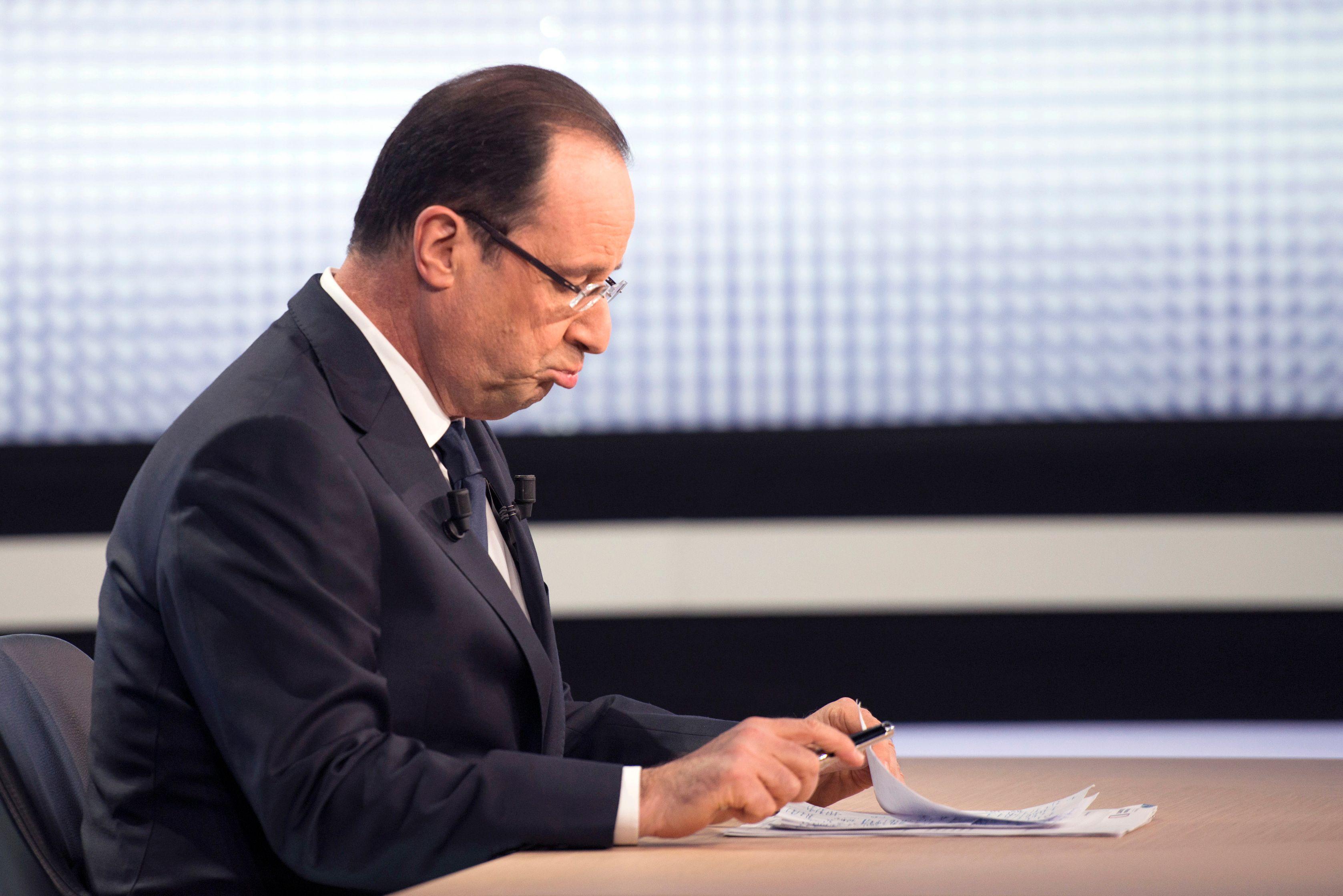 François Hollande a déclaré que le choc de simplification serait lancé fin avril