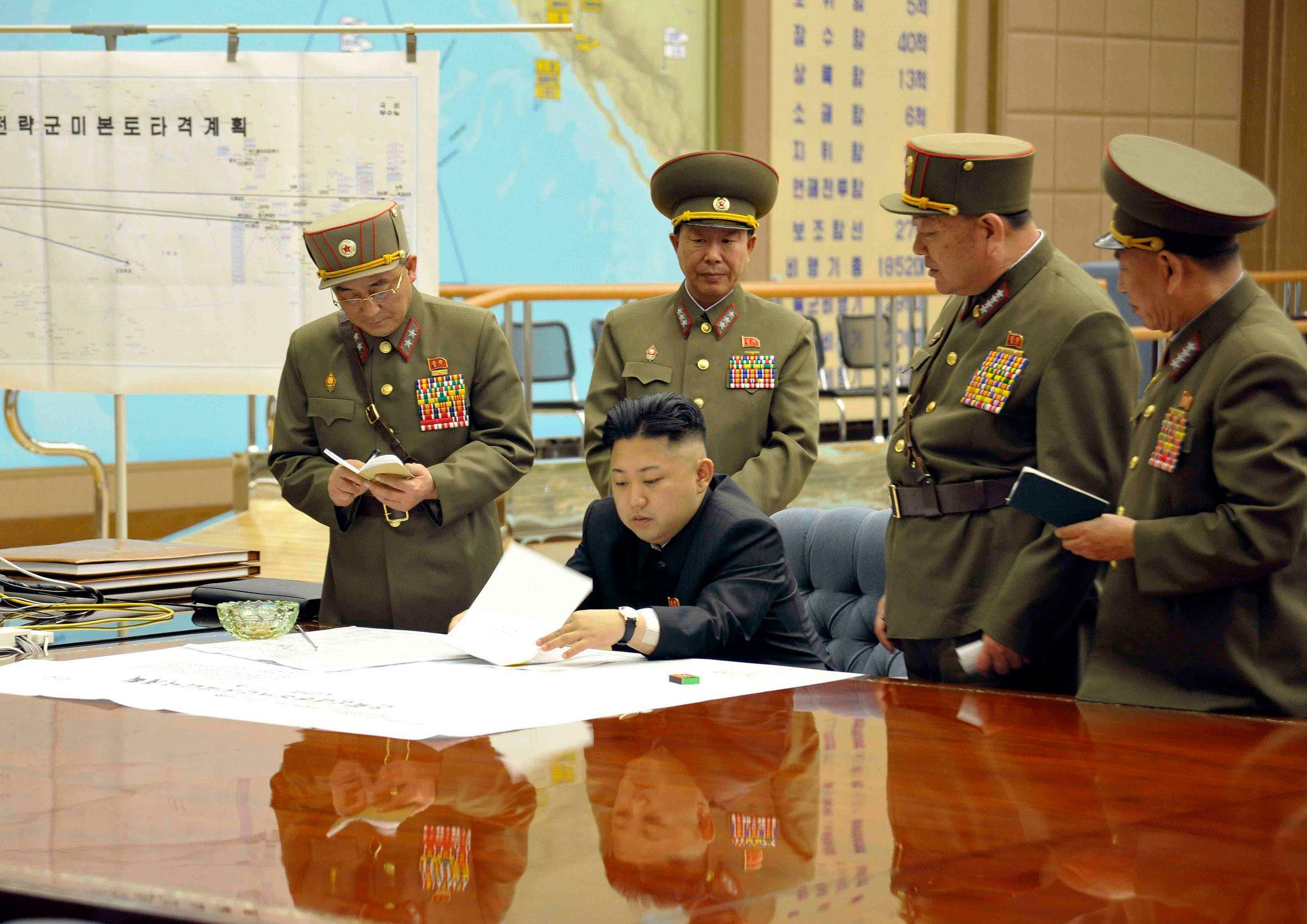Kim Jong-un et la Corée du Nord menacent les Etats-Unis