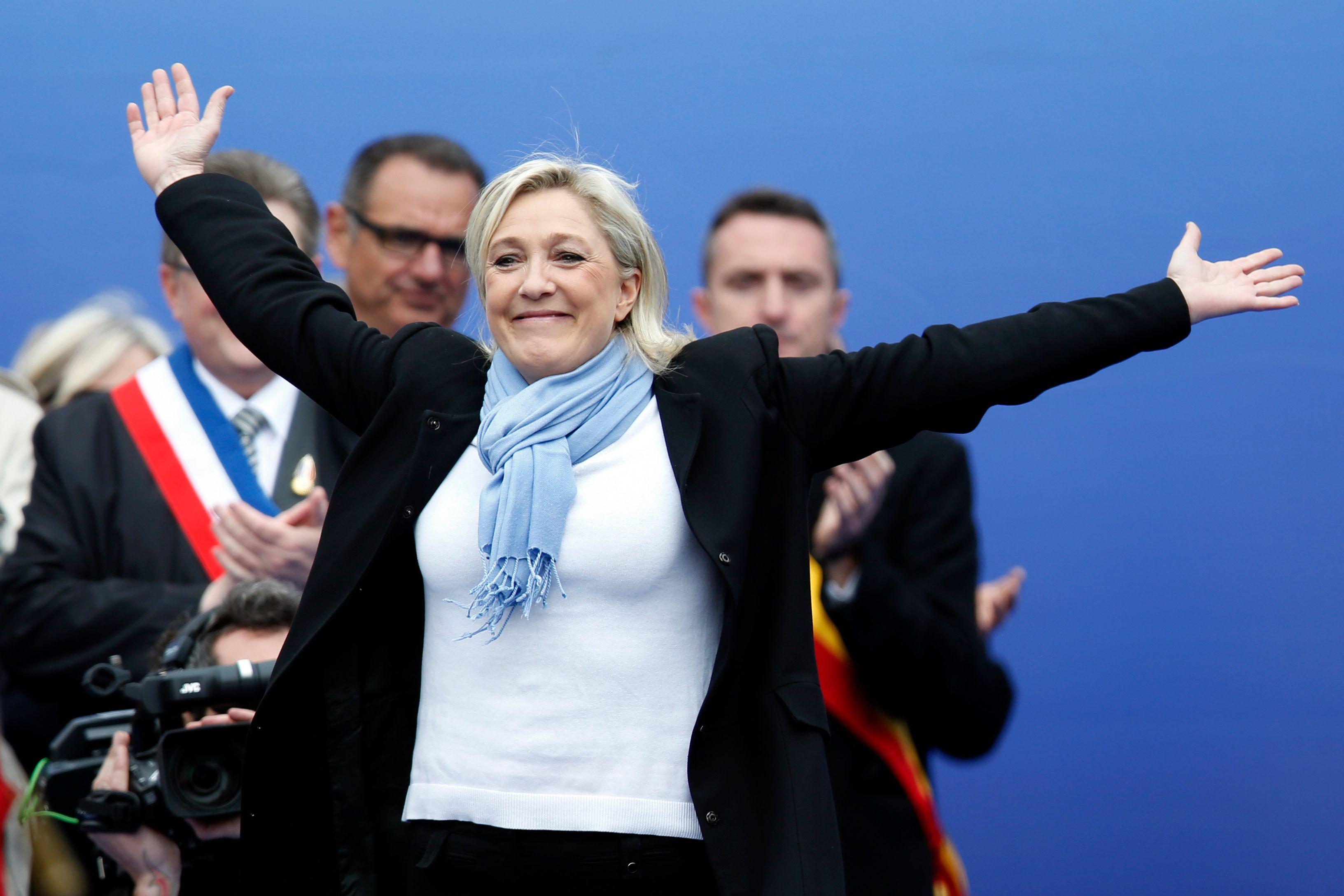 Front national : un tiers desFrançais adhère aux idées du parti de Marine Le Pen