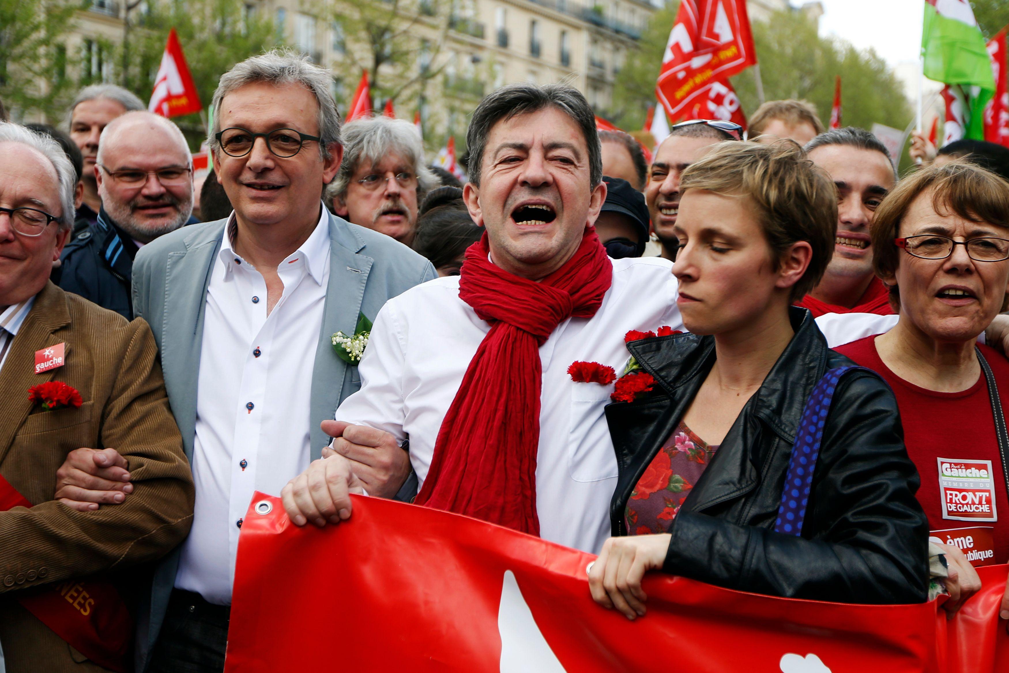 2017 : Pierre Laurent choisit Jean-Luc Mélenchon