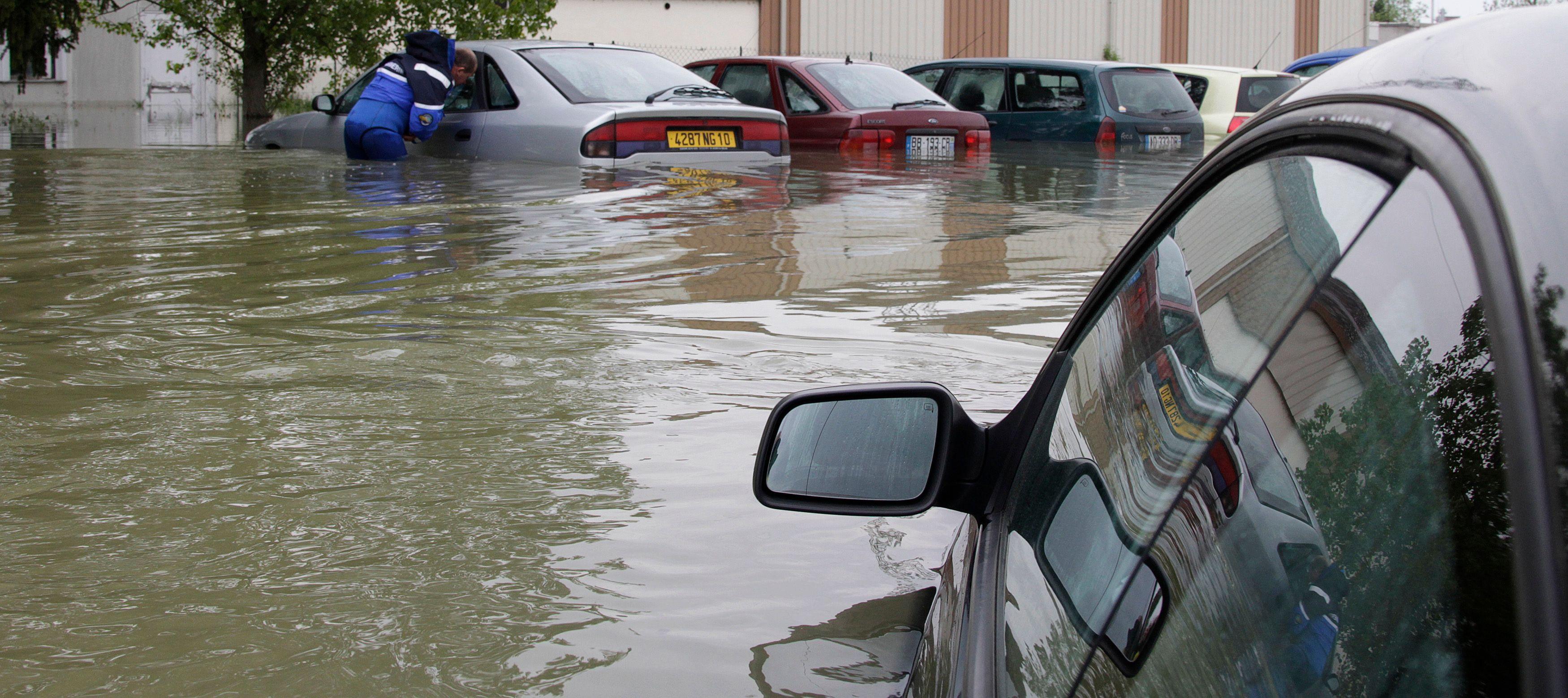 Attention aux inondations dans le sud de la France