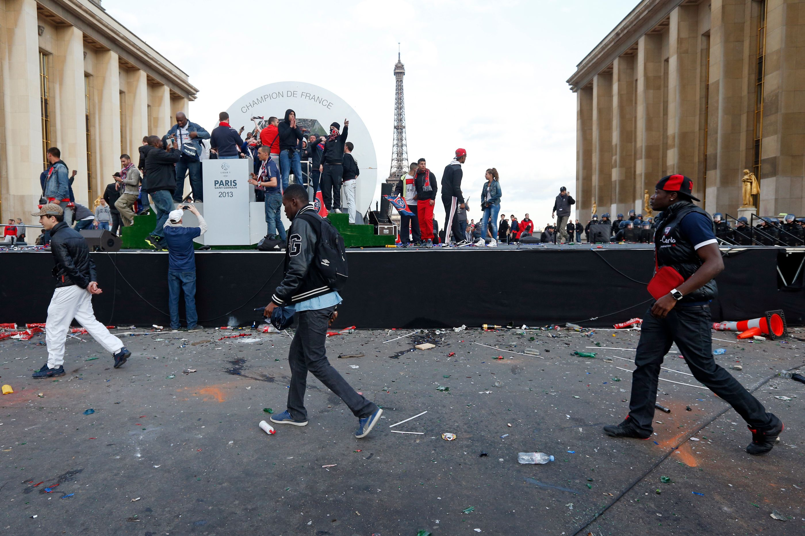 Les émeutes du Trocadéro ont fait 32 blessés.