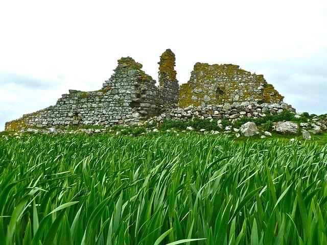 Un champs de ruines.