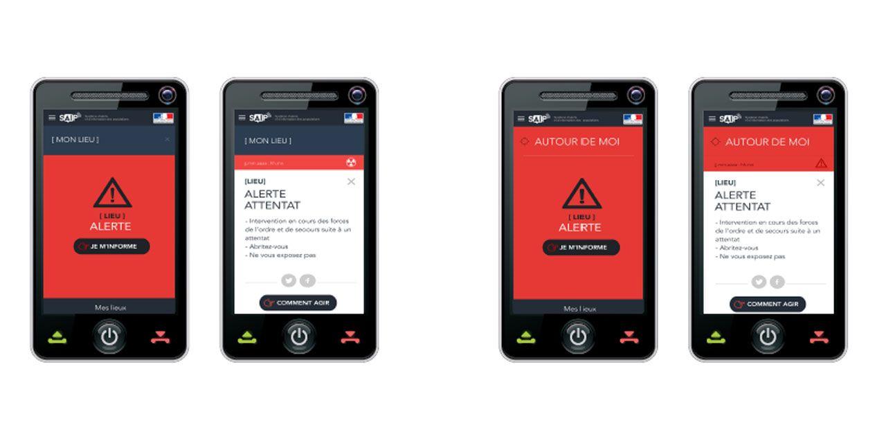 Attentat de Nice : les ratés de l'application SAIP