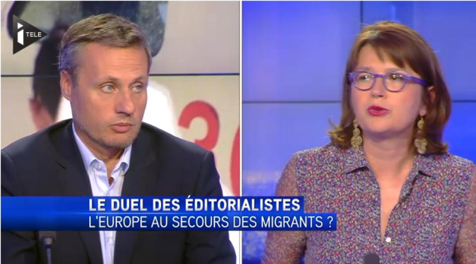 L'Europe au secours des migrants ? Débat entre Carine Bécard et Jean-Sébastien Ferjou