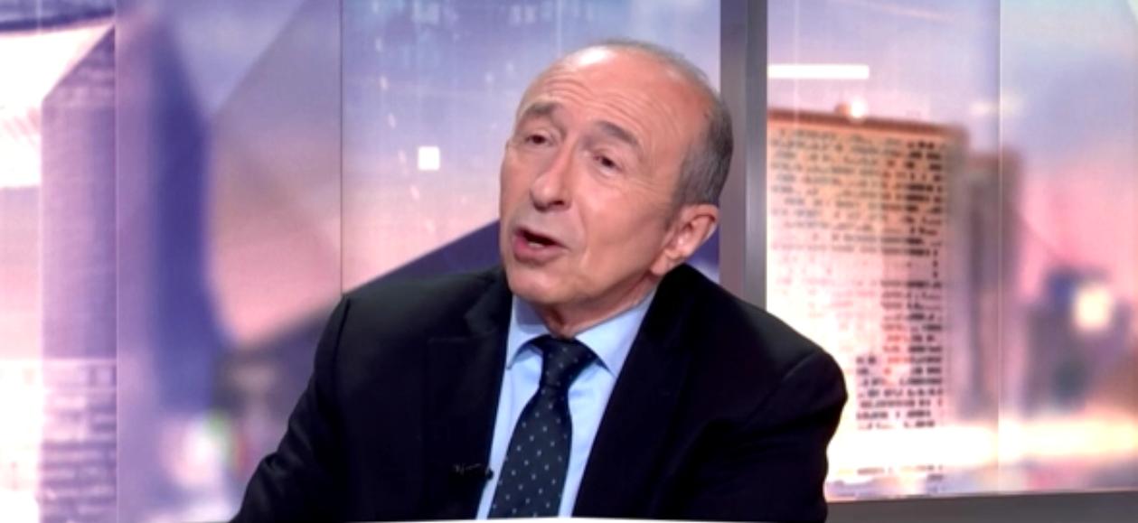 """Gérard Collomb : """"Ceux qui sont déboutés du droit d'asile doivent être expulsés"""""""