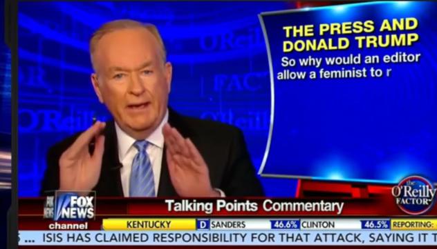 Fox News : un chèque de 25 millions de dollars pour Bill O'Reilly, viré pour harcèlement sexuel