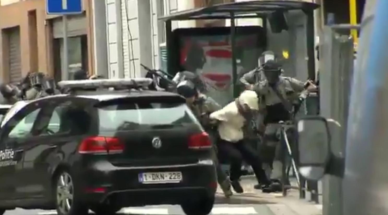 Arrestation de Salah Abdeslam à Molenbeek le 18 mars 2015