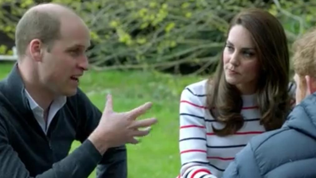 Dans une vidéo, William et Harry se confient à Kate sur leurs souffrances après la mort de Diana