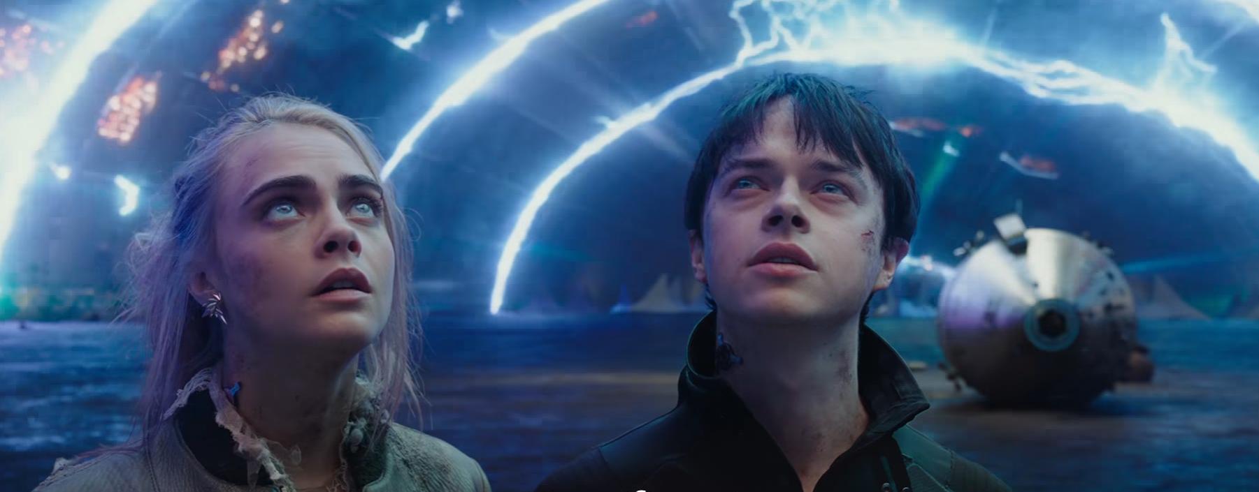 """""""Valérian et la cité des mille planètes"""" signe le deuxième meilleur démarrage de l'année dans les salles françaises"""