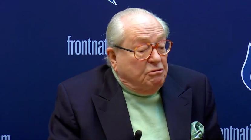 """Jean-Marie Le Pen hospitalisé : il explique avoir eu """"un petit problème cardiaque"""""""