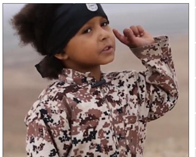 """Qui est """"Jihadi John Junior"""", ce garçon britannique de 4 ans qui appelle à tuer """"tous les infidèles""""?"""