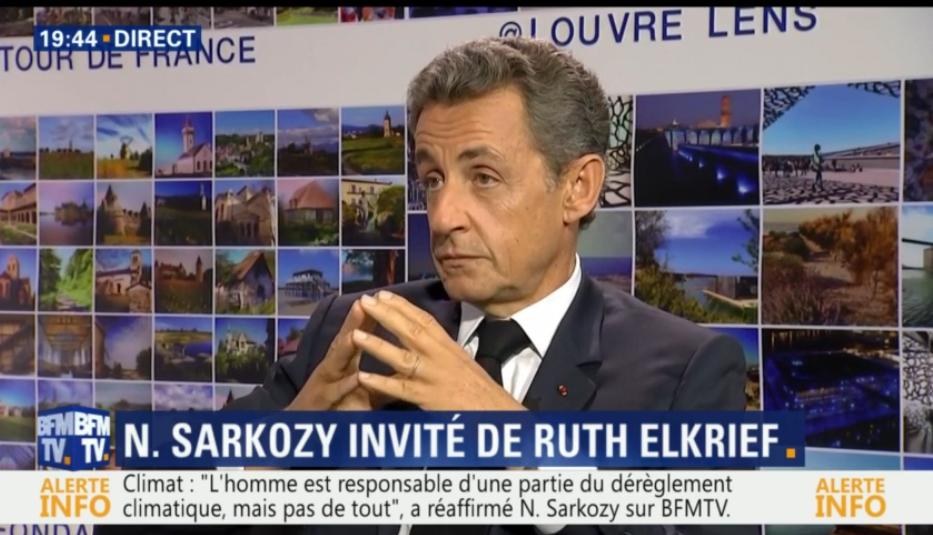 """Nicolas Sarkozy : """"À l'école on apprend l'histoire de France, pas l'histoire de ses parents"""""""