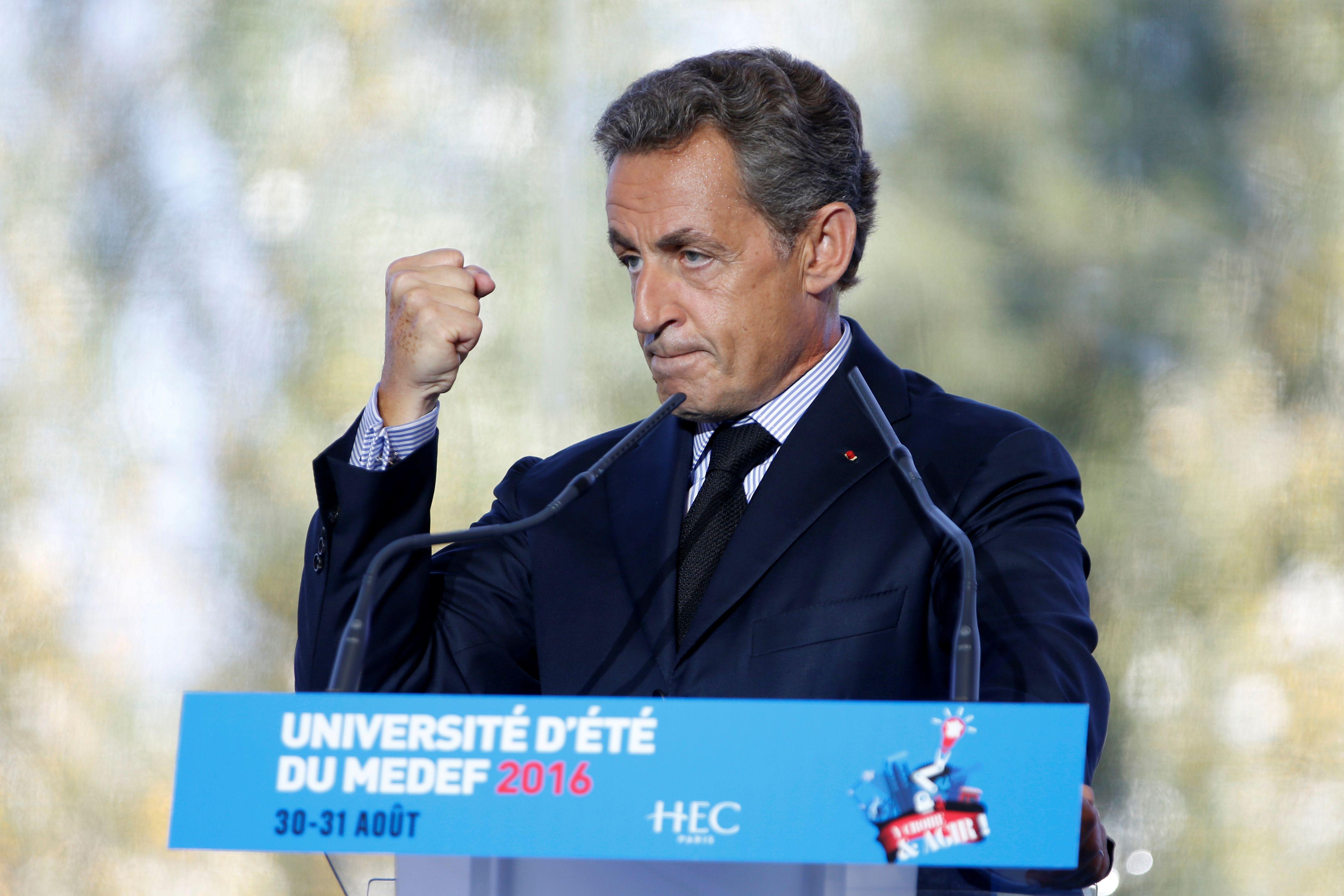 Nicolas Sarkozy défend son programme économique