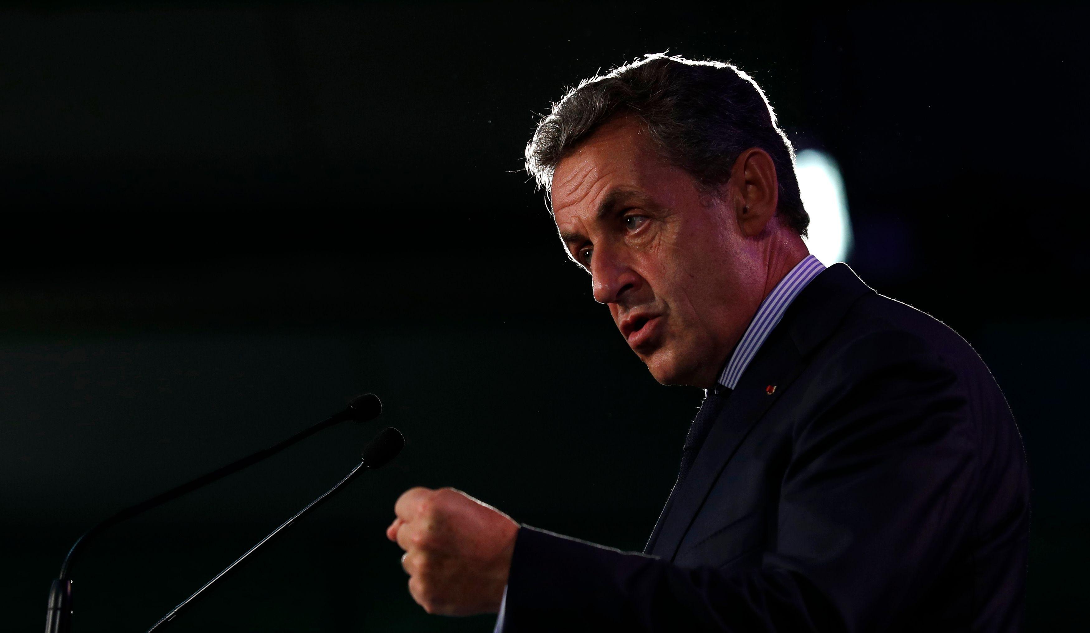 """Nicolas Sarkozy : """"Je ne crois pas à l'identité heureuse"""""""
