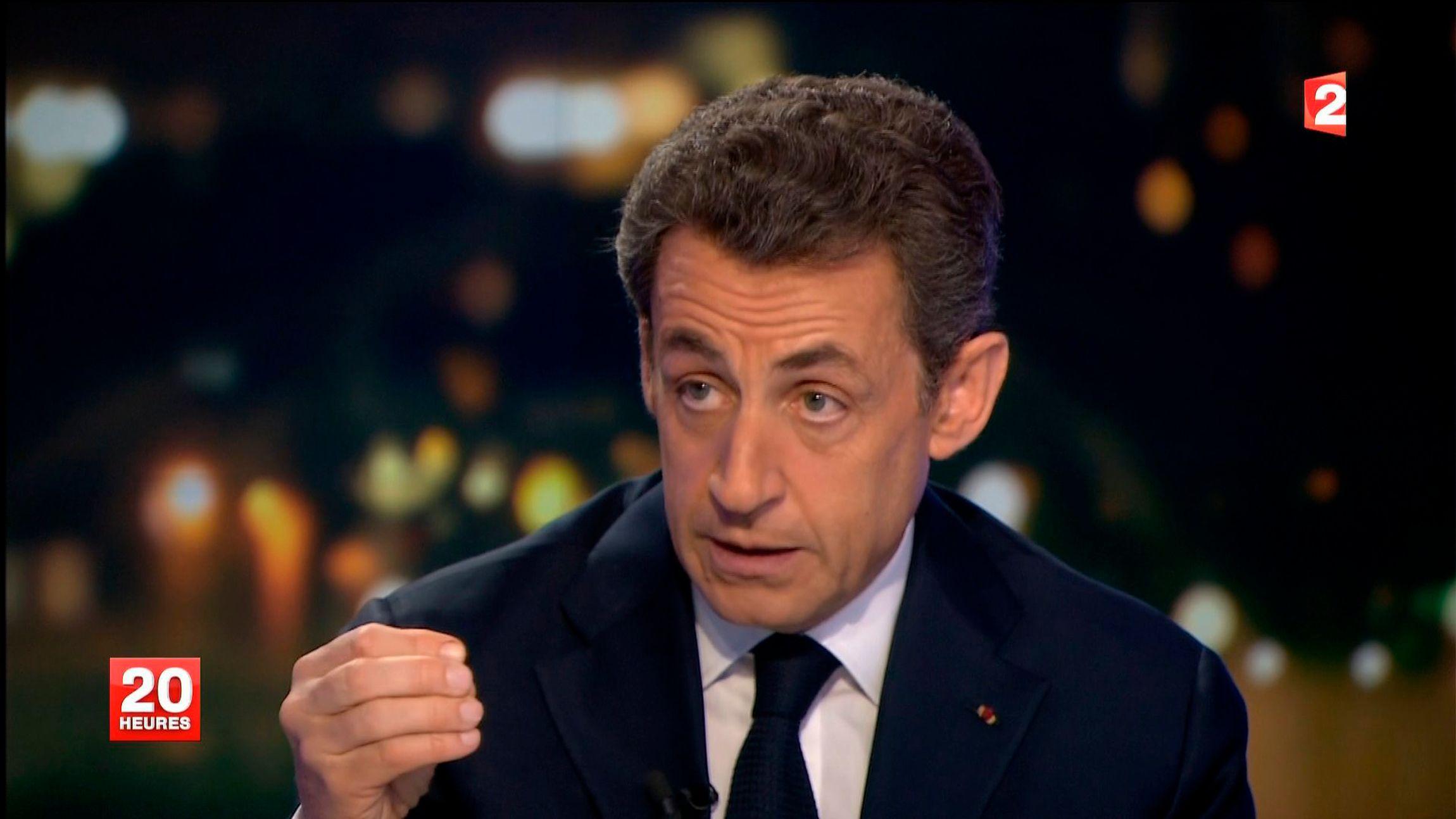"""Nicolas Sarkozy au JT de France 2 : """"Il faut retirer la nationalité aux djihadistes français partis combattre à l'étranger"""""""