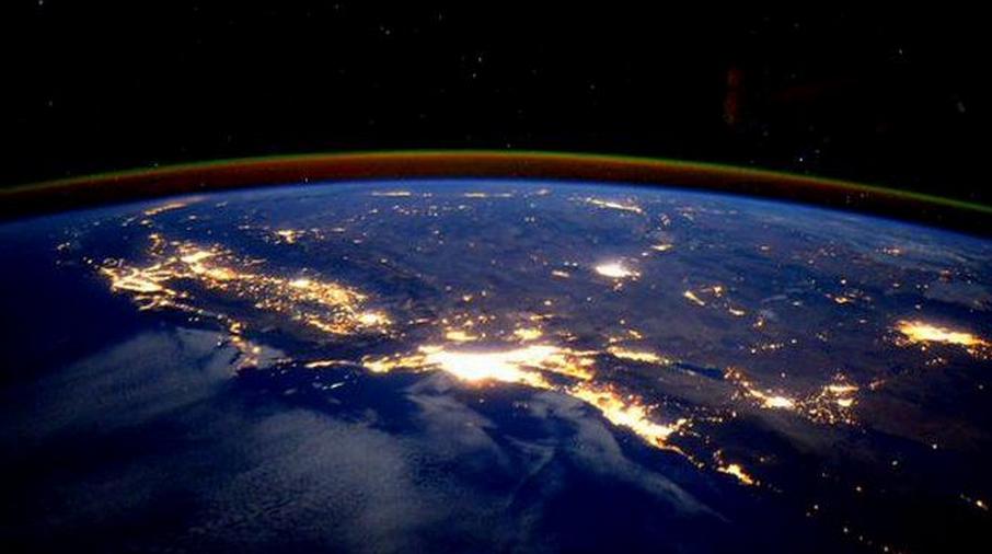 L'astronaute Scott Kelly dévoile une incroyable photo de Los Angeles prise depuis l'espace