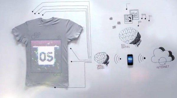 Le Tee-Shirt du futur...