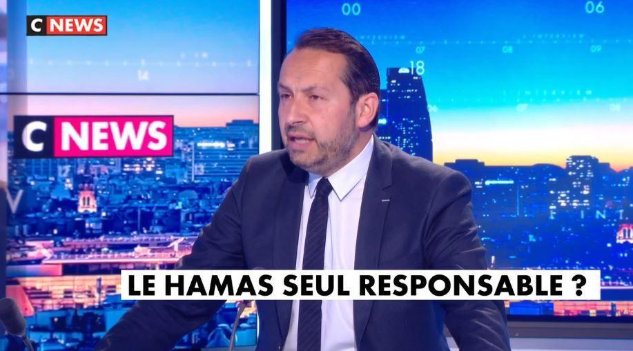 Sébastien Chenu était l'invité de CNews ce vendredi 14 mai.