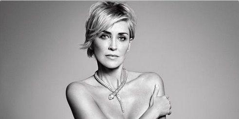 Sharon Stone n'a jamais eu froid aux yeux.