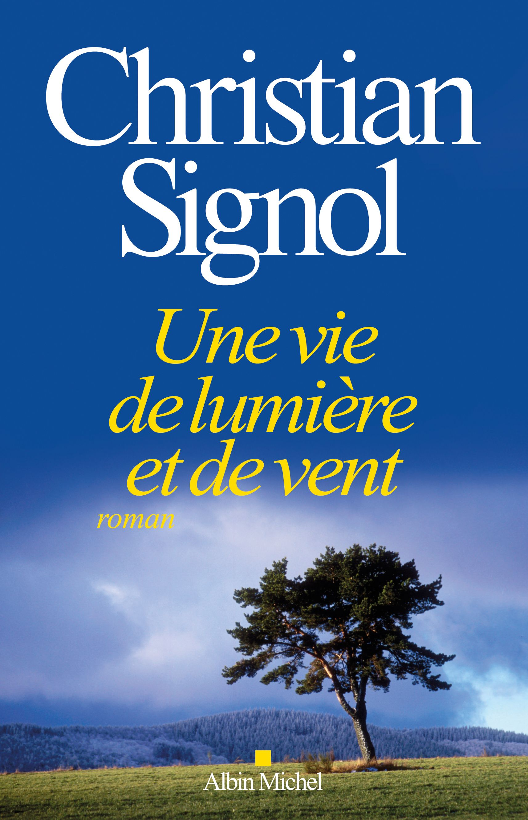 Le nouveau livre de Christian Signol