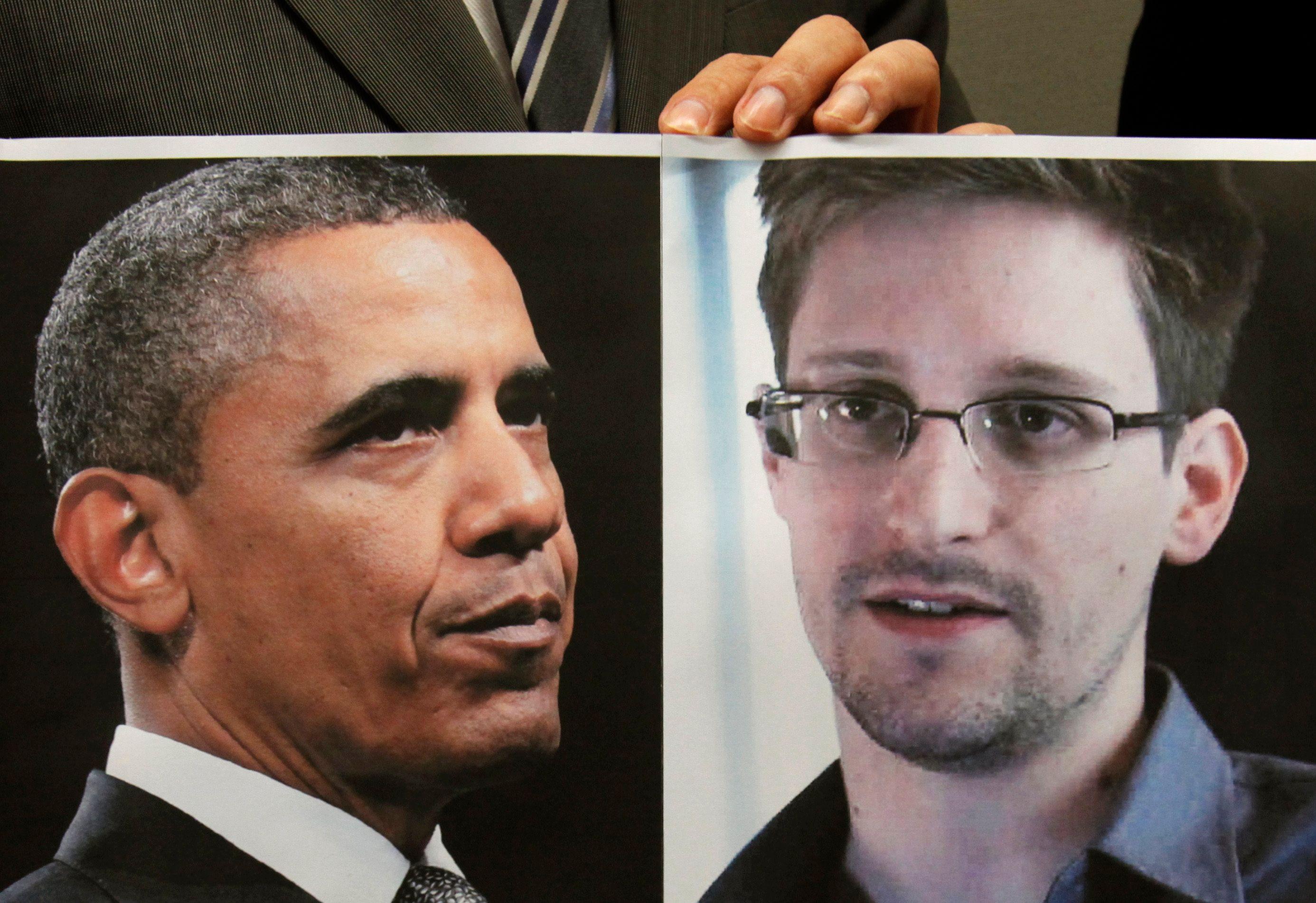 Barack Obama souhaite que Edward Snowden soit jugé aux Etats-Unis