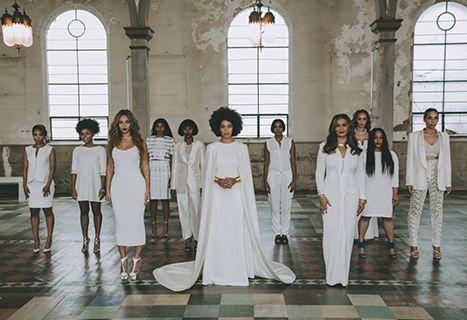 Beyonce à gauche au mariage de Solange, sa soeur