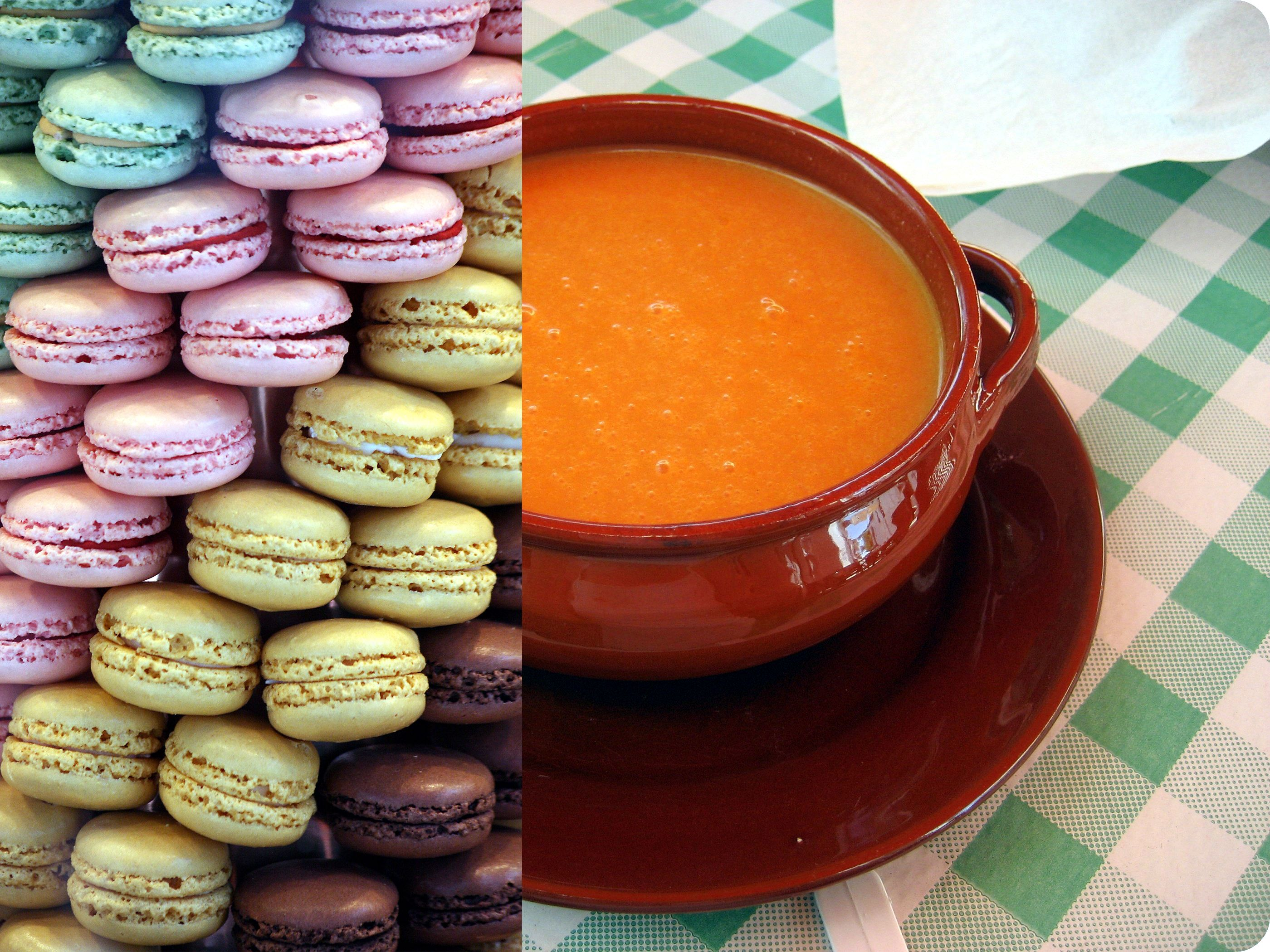 Le sucre est partout, même dans une soupe à la tomate.