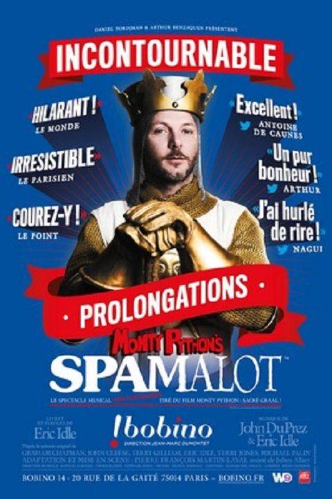 Affiche de Spamalot