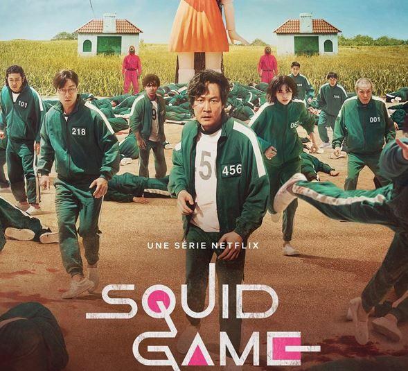 La série Squid Game fait un carton sur Netflix.