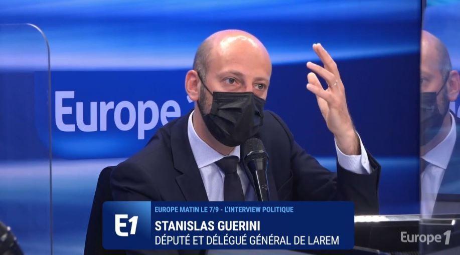 Stanislas Guerini était l'invité de Sonia Mabrouk ce vendredi 4 juin sur Europe 1.