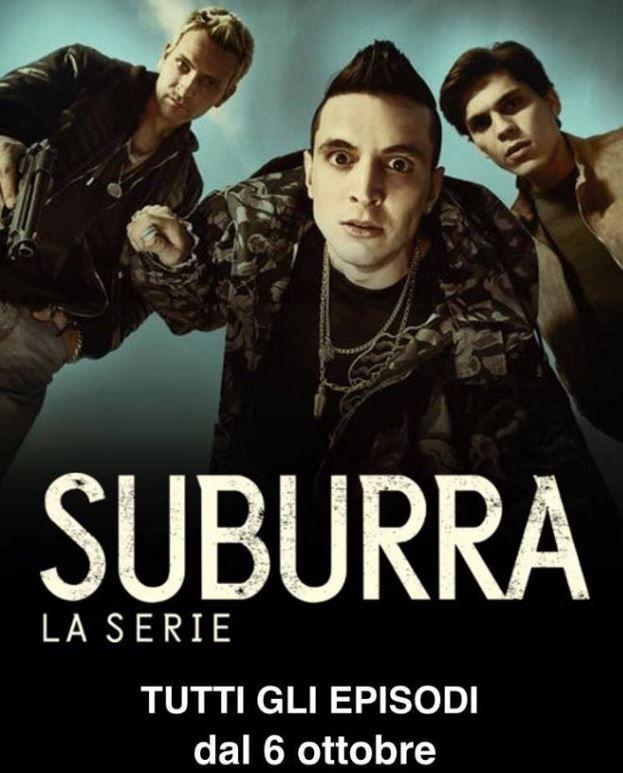 Suburra série télévisée mafia criminalité Vatican Rome Netflix