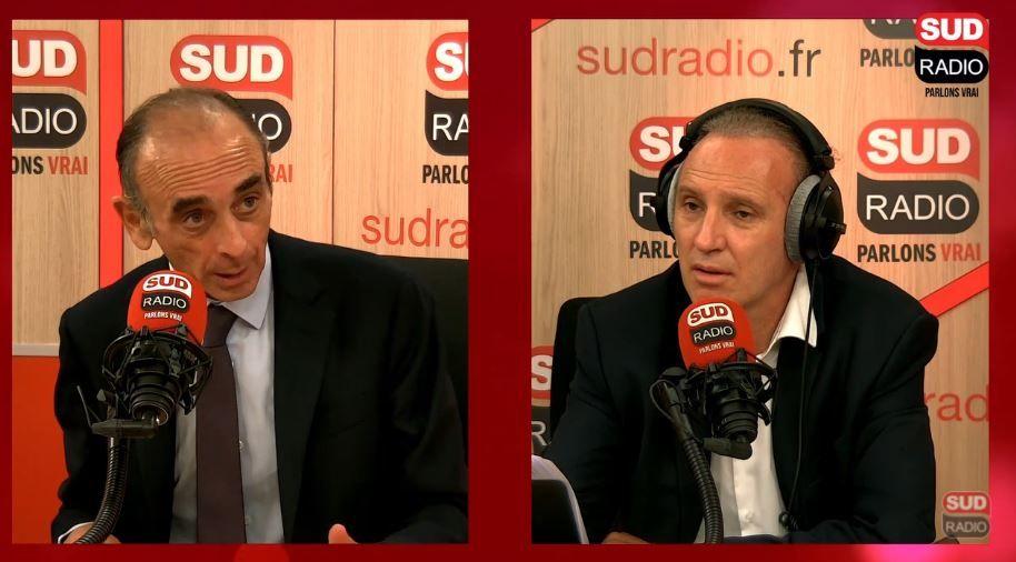 Eric Zemmour Sud Radio