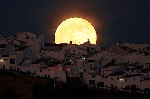 La super-lune du 12 juillet