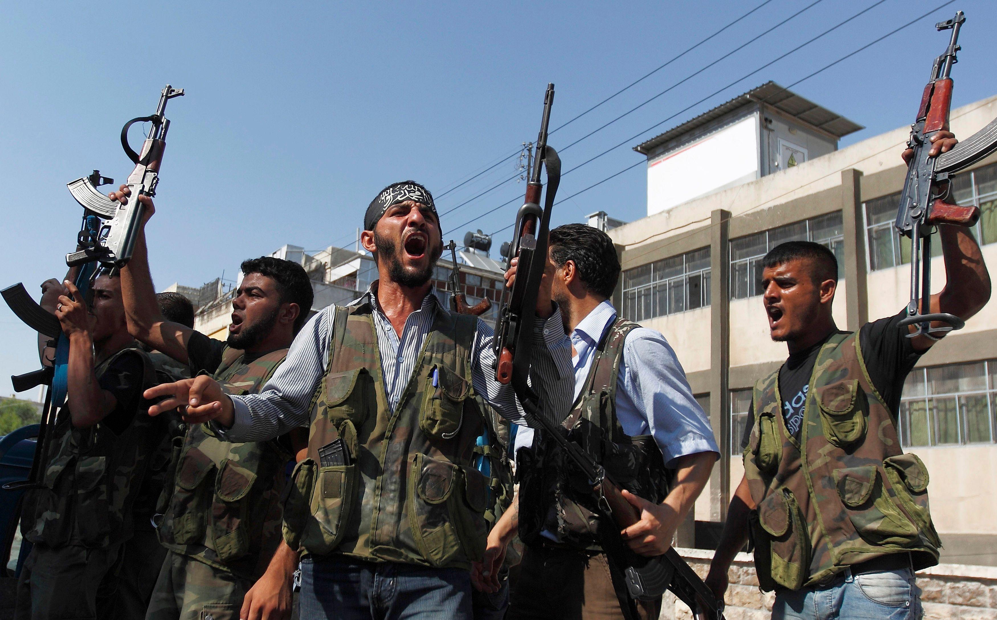 Des membres de l'Armée syrienne libre (ASL).