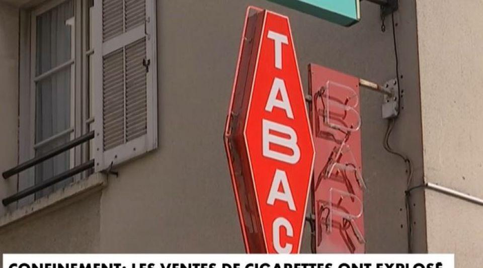Les ventes de cigarettes ont explosé en France lors de la période du confinement