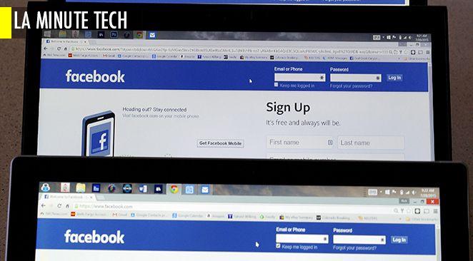 Des millions d'utilisateurs de Facebook sont connectés à Internet sans le savoir.