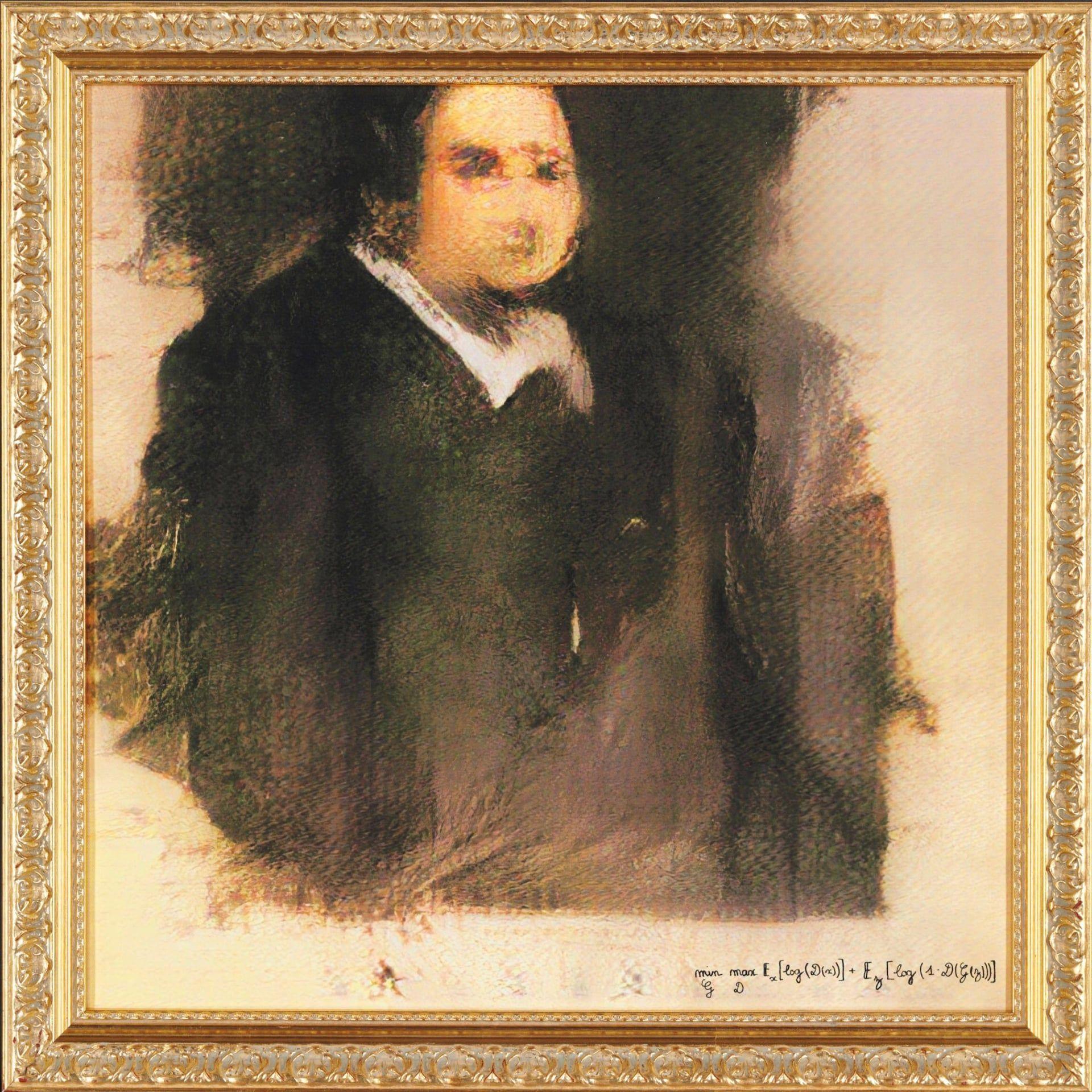 """Une """"œuvre d'art"""" créée par une intelligence artificielle sur le catalogue de Christie's"""