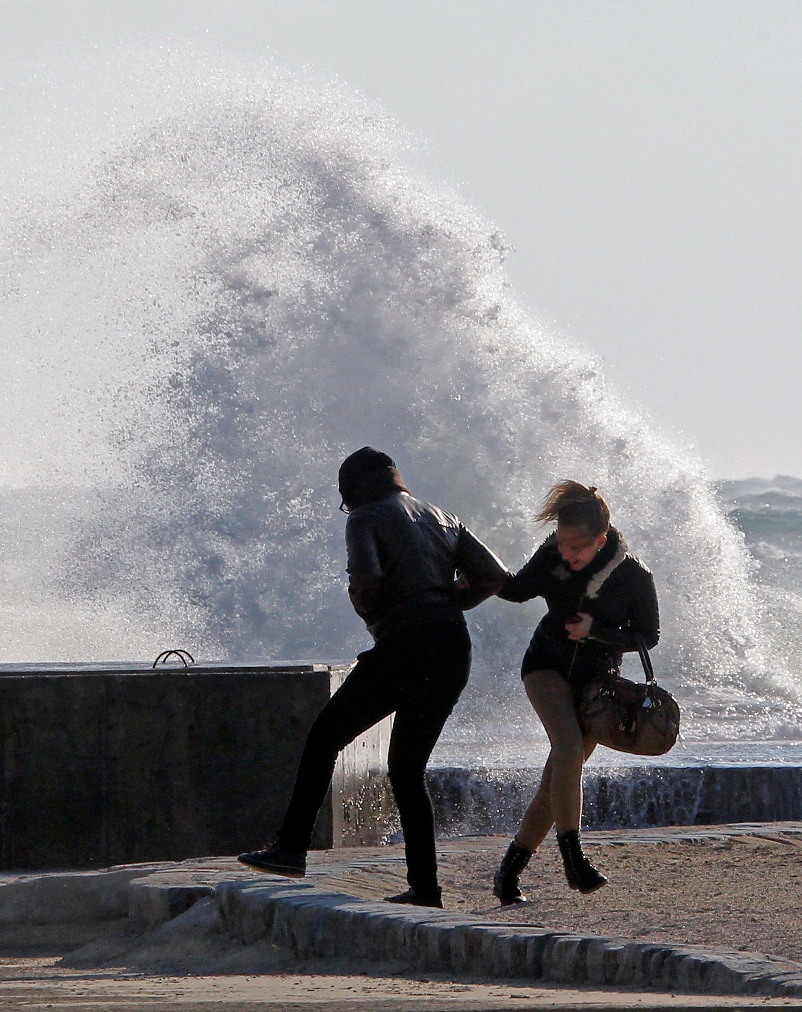 Des tempêtes très violentes ont touché la France cet hiver.
